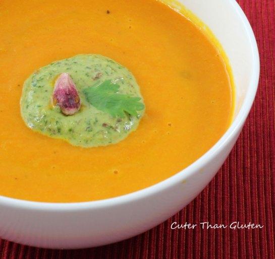 Cilantro-Pistachio Cream