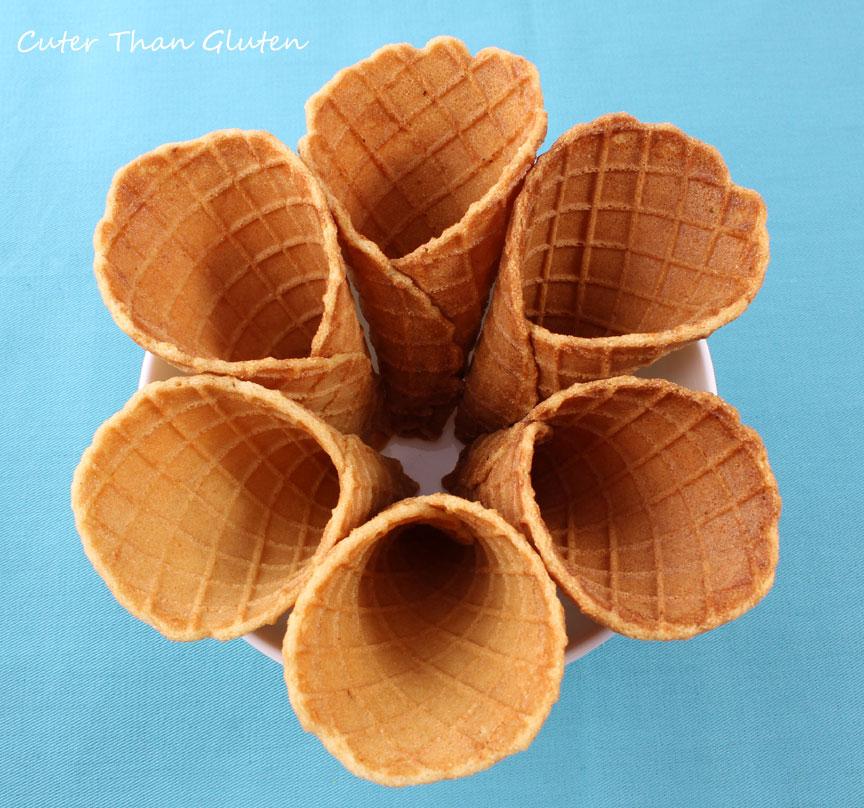 Gluten-Free Waffle Cones | Cuter Than Gluten