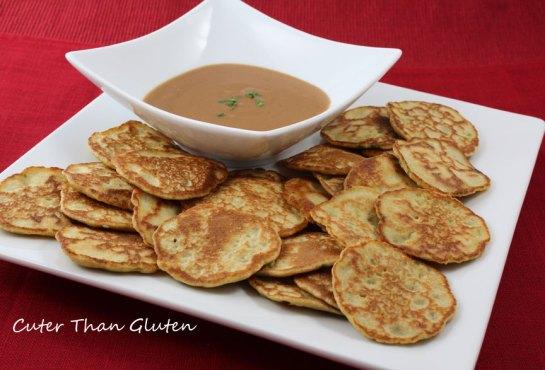 Quinoa Chive Pancakes