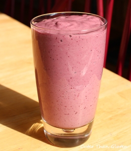 Cherry Smoothie and Cookbook Review